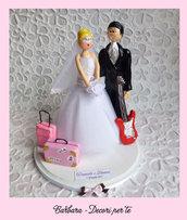 TOP CAKE - Statuine per torta