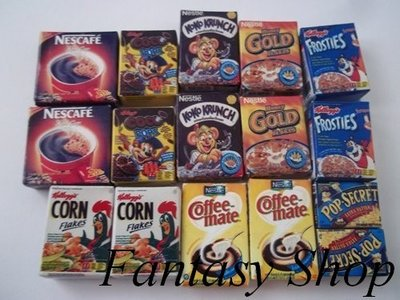 Miniature Scatole Corn Flakes