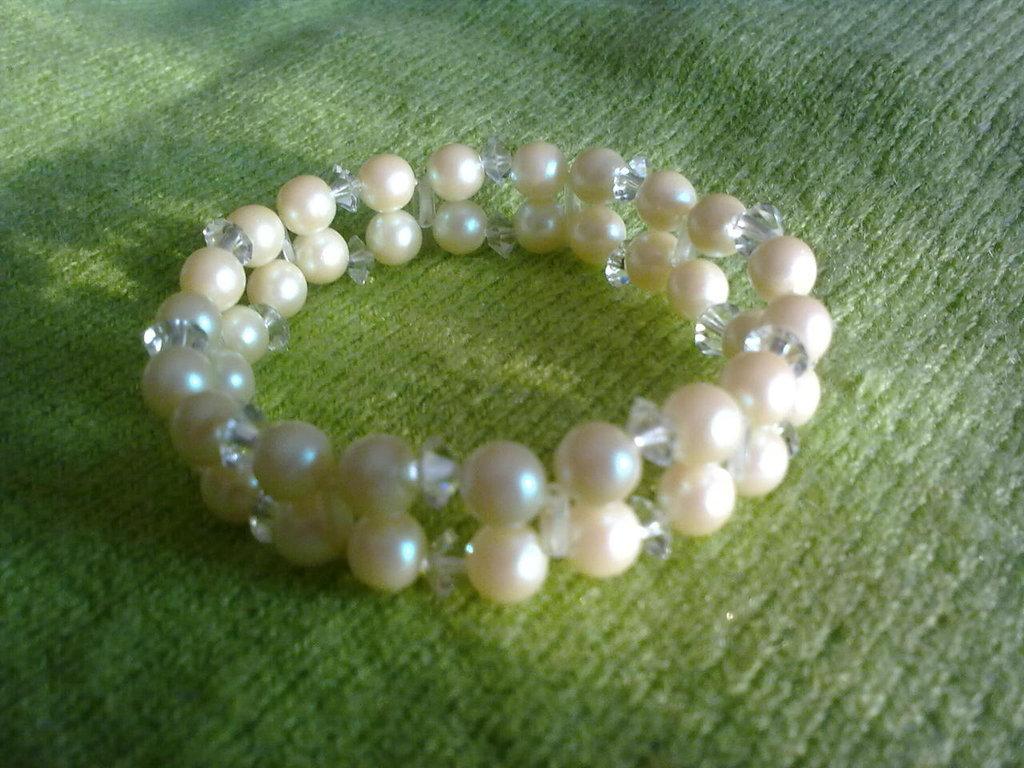 bracialetto di perline