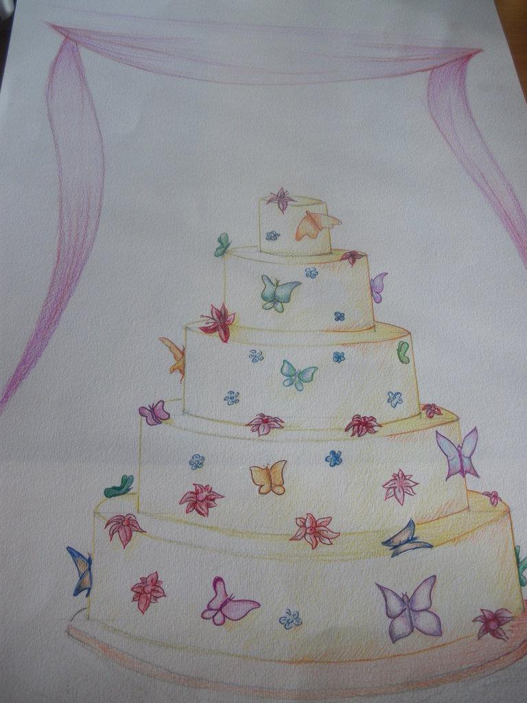 progetto per wedding cake