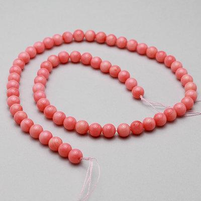 filo di corallo bamboo rosa