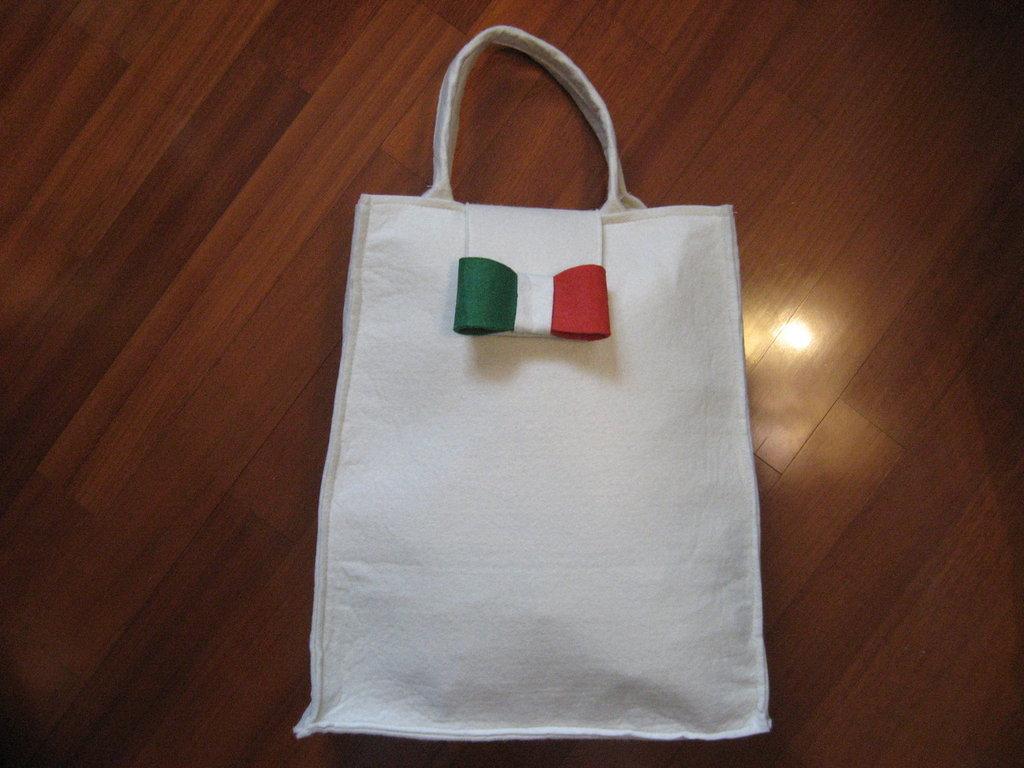 """BORSA """"I LOVE ITALY"""" ( cc 150 )"""