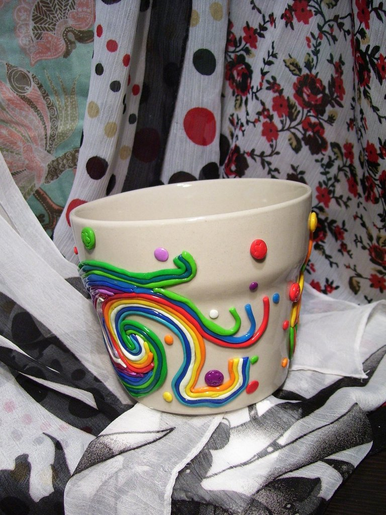 vaso decorato art. VAS002