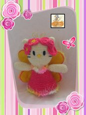 hello kitty fata amigurumi-hello kitty fairy