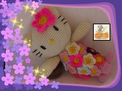 hello kitty sirena amigurumi-hello kitty mermaid