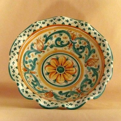 Ceramiche di Caltagirone - Alzata