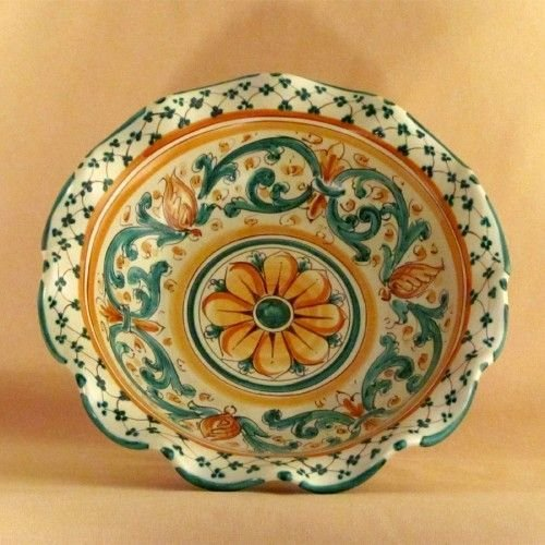 Oggetti Ceramica Di Caltagirone.Ceramiche Di Caltagirone Alzata Per La Casa E Per Te Cucina