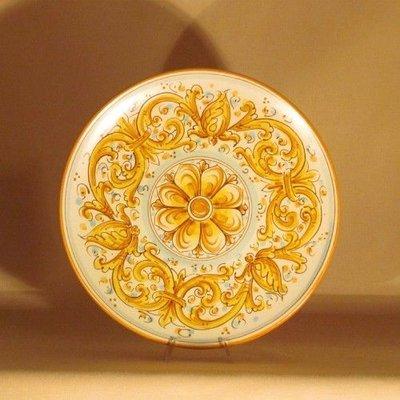 Ceramiche di Caltagirone - Piatto Grande