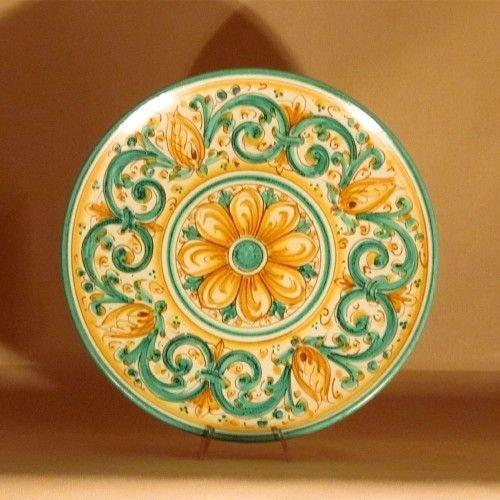 Piatti Ceramica Di Caltagirone.Ceramiche Di Caltagirone Piatto Grande Per La Casa E Per Te D