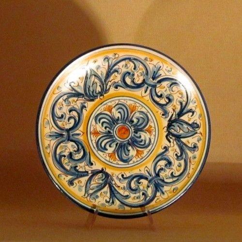 Oggetti Ceramica Di Caltagirone.Ceramiche Di Caltagirone Piatto Piccolo Per La Casa E Per Te