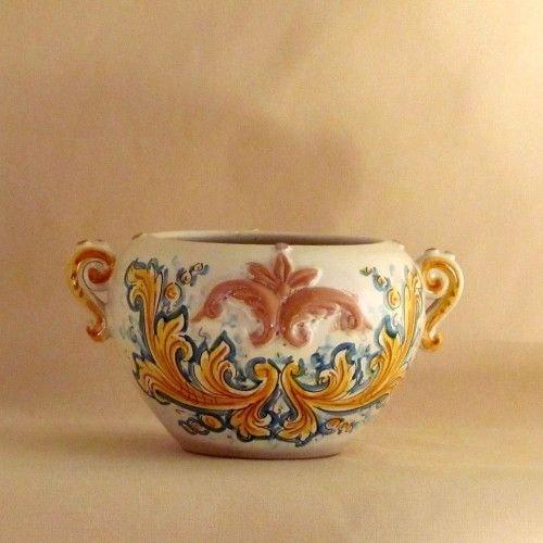 Ceramiche di caltagirone porta vaso per la casa e per - Oggetti simpatici per la casa ...