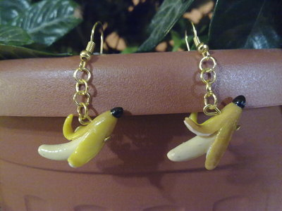 orecchini banane