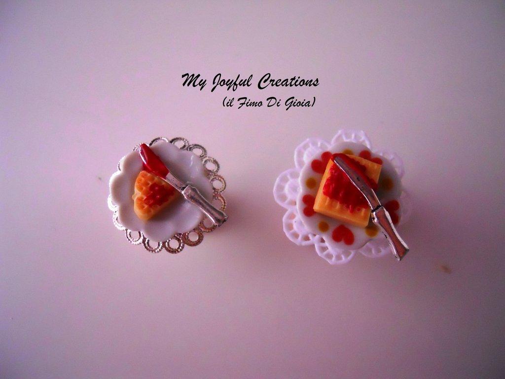 anelli miniature fimo