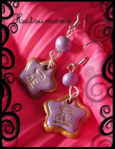 Hoshi 星 Earrings