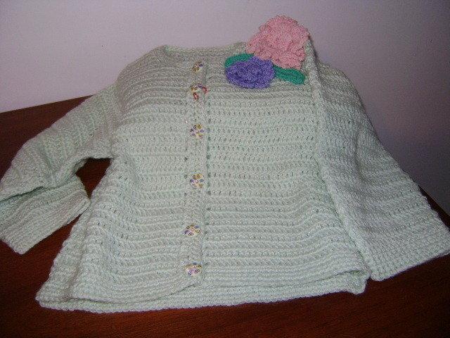 Giacchina Verde Acque Per Bimba Elegante Bambini Abbigliamento