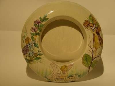 portafoto ceramica fate fiori cicely mary barker