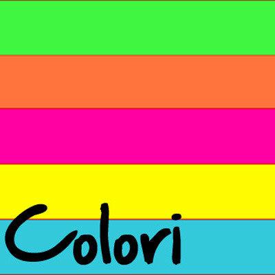 Festa Compleanno COLORI - 5 articoli