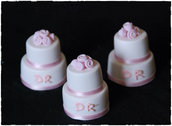 Mini Wedding Cake Segnaposto