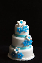 Mini Wedding Cake 3 piani Segnaposto