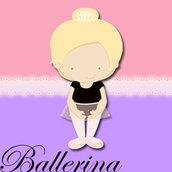 Festa Compleanno BALLERINA- 10 articoli