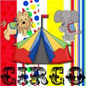 Festa Compleanno CIRCO - 10 articoli