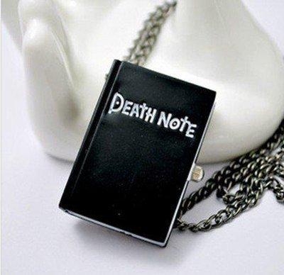 Collana DEATH NOTE apribile ad orologio