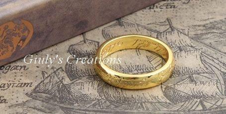 Collana del SIGNORE DEGLI ANELLI l' unico anello