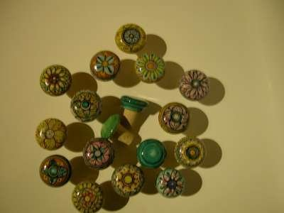 bomboniera ceramica tappo bottiglia geometrico celtico