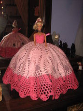 barbie mattel vestita hand made