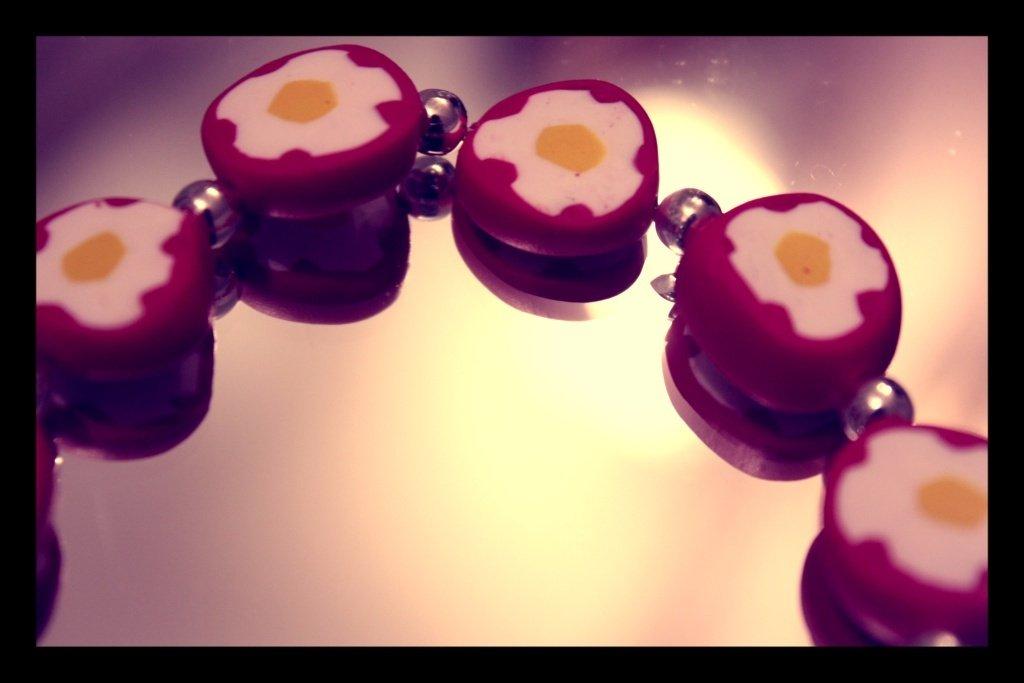 Bracciale fiorito