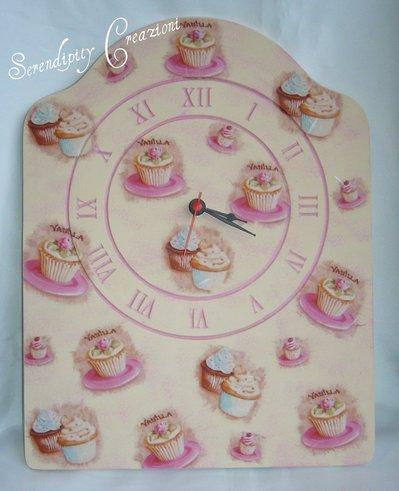 Orologio Cupcakes