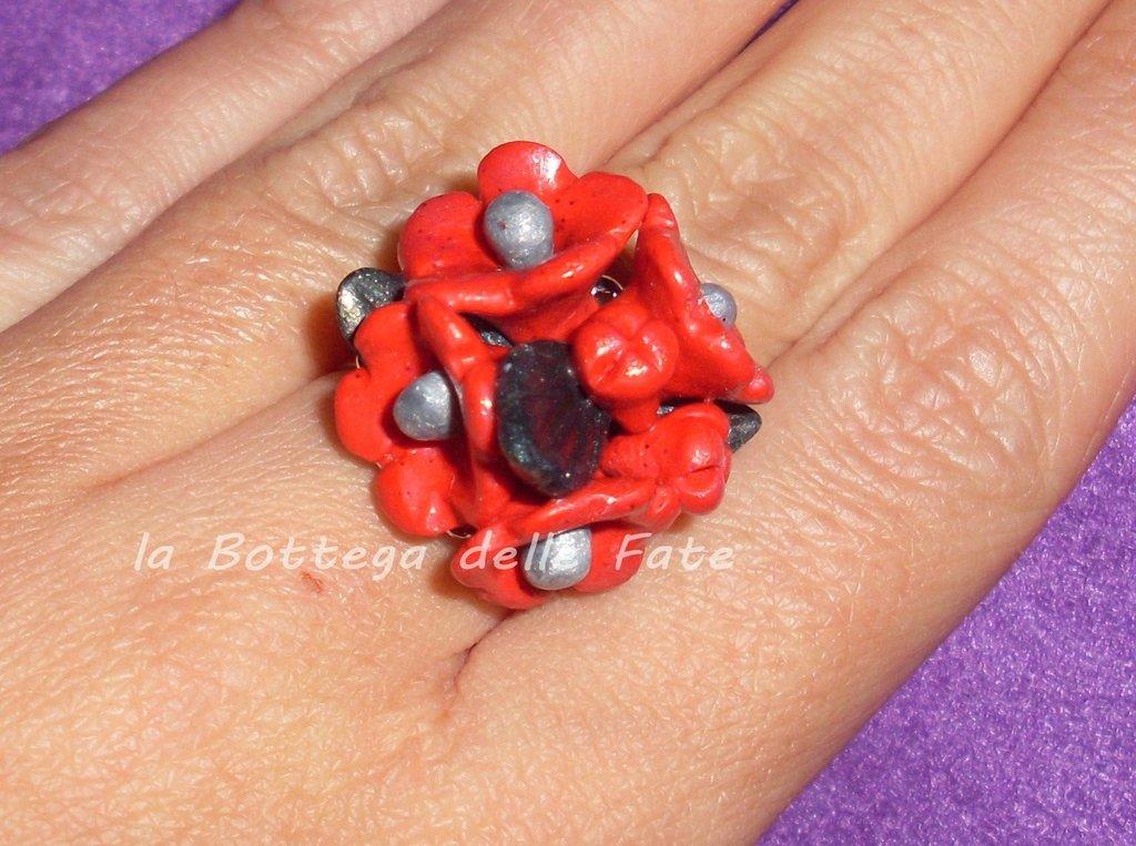 anello mazzo di fiori