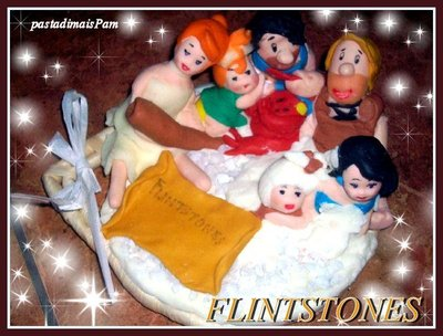 FLINTSTONES IN PASTA DI MAIS
