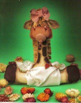 Cartamodello Bimba jiraffa