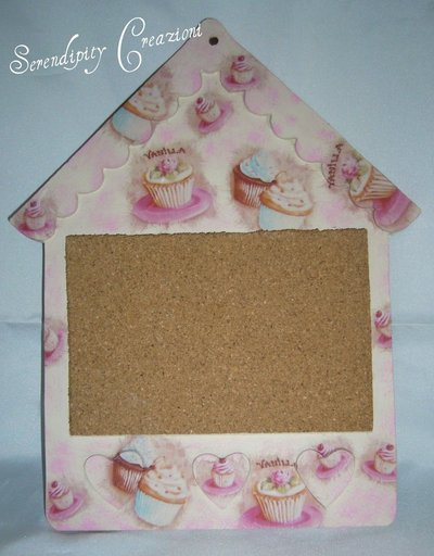 Lavagnetta in sughero Cupcakes