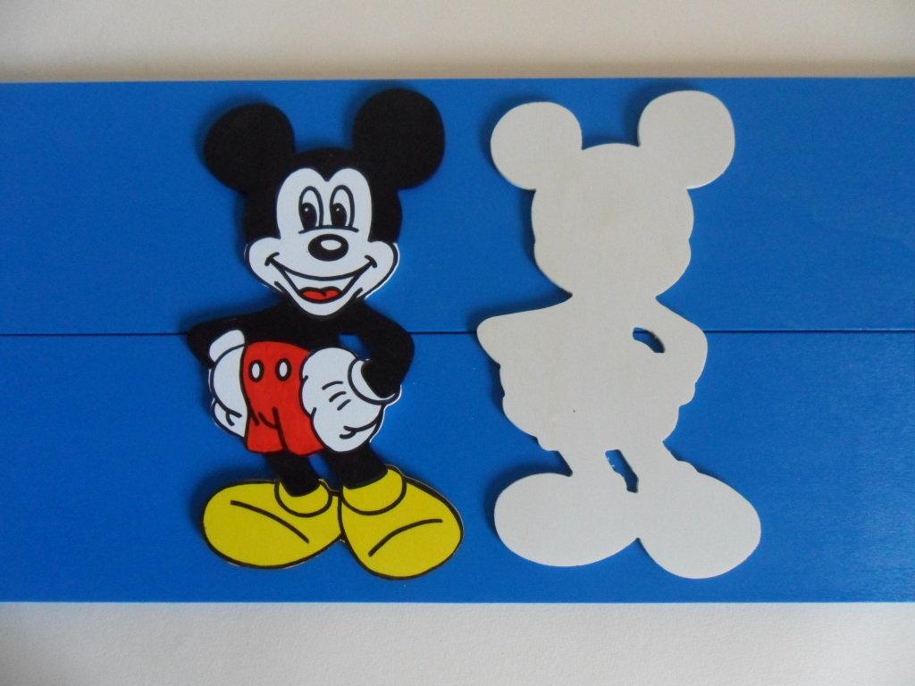 5 sagome topolino e 5 sagome minnie da decorare decoupage for Decorare la stanza di minnie e topolino