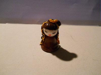 Bambola portafortuna stile giapponese