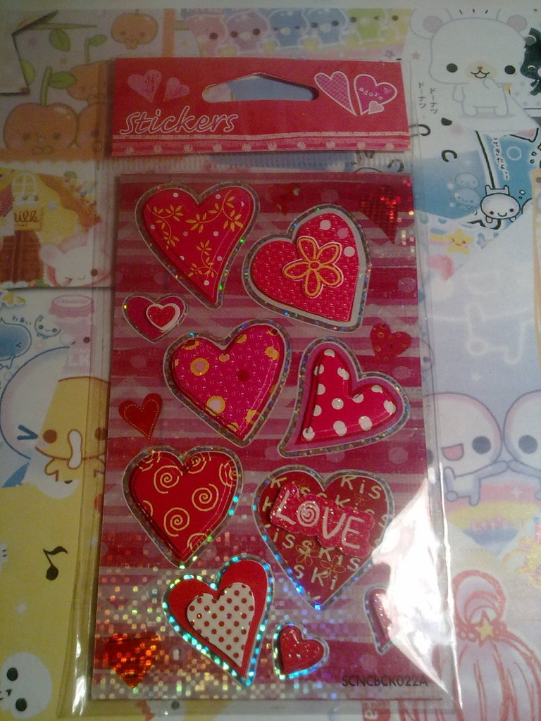 Stickers Cuori