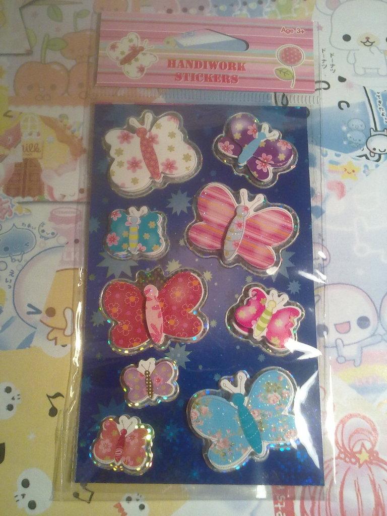 Stickers Farfalle