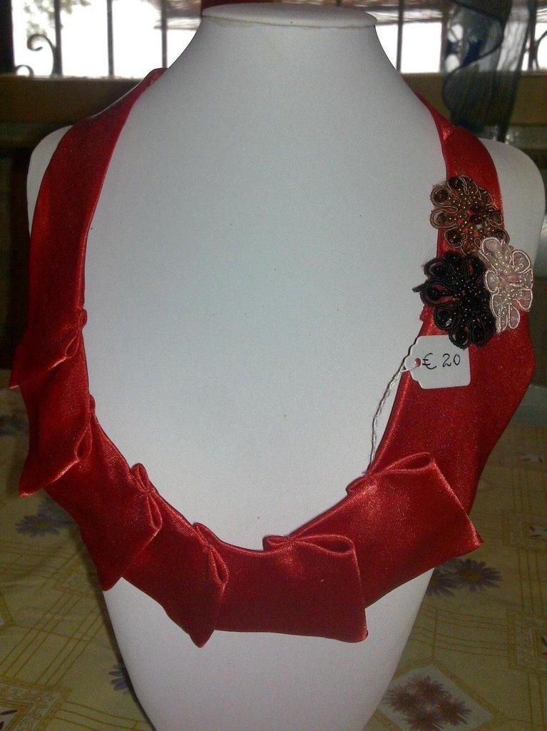 Collana Cravatta Rossa