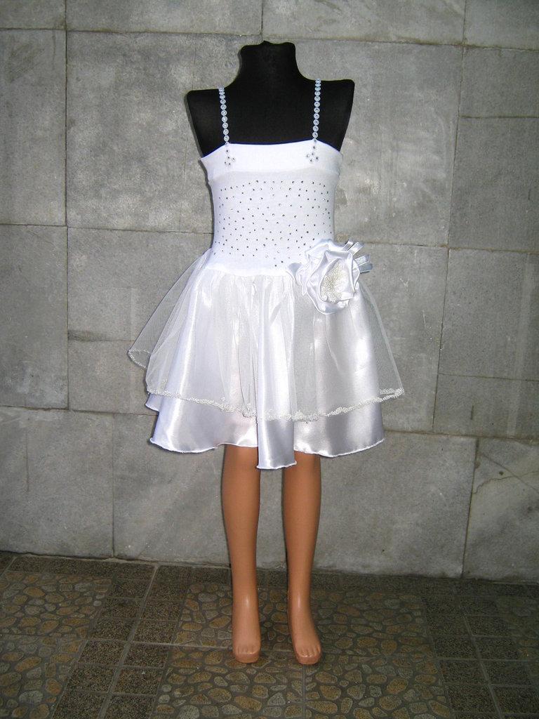 Bianco per bambini vestito