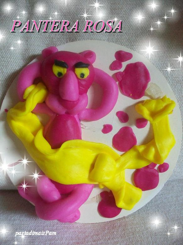 pantera rosa in pasta di mais