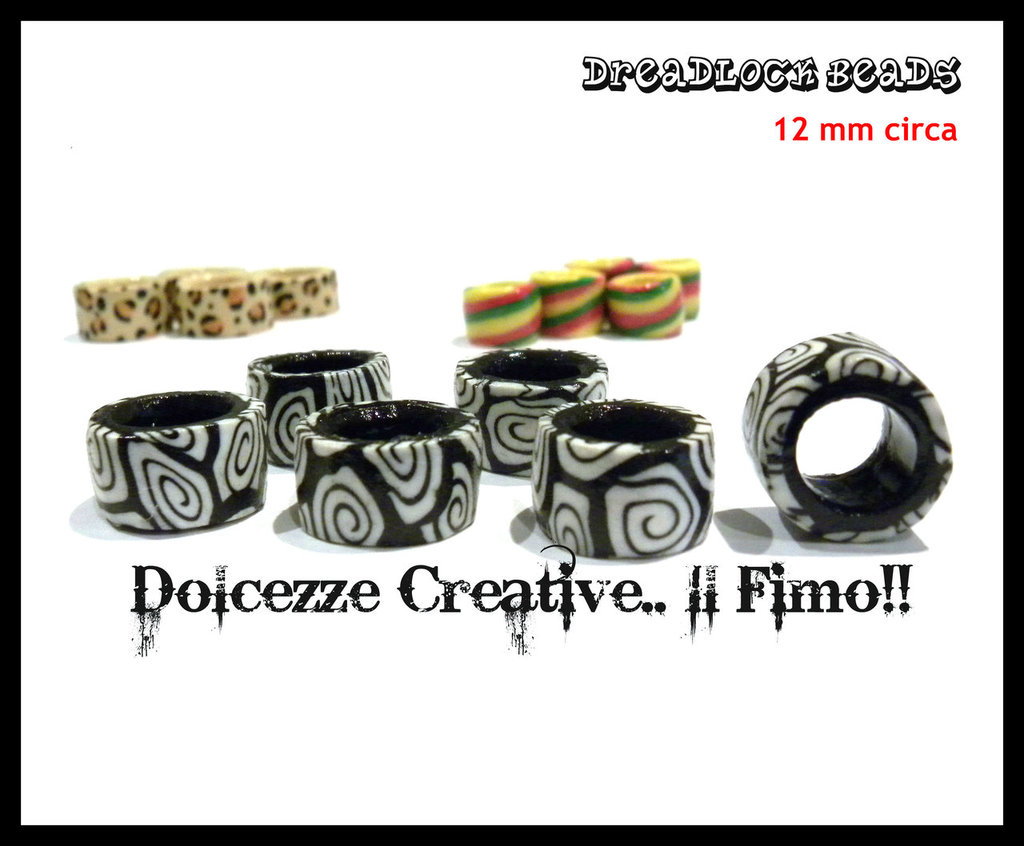 DreadLock Beads - Perle per Rasta