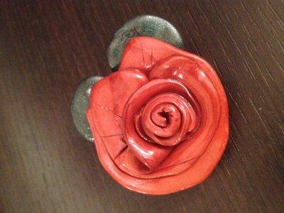 rosa fimo