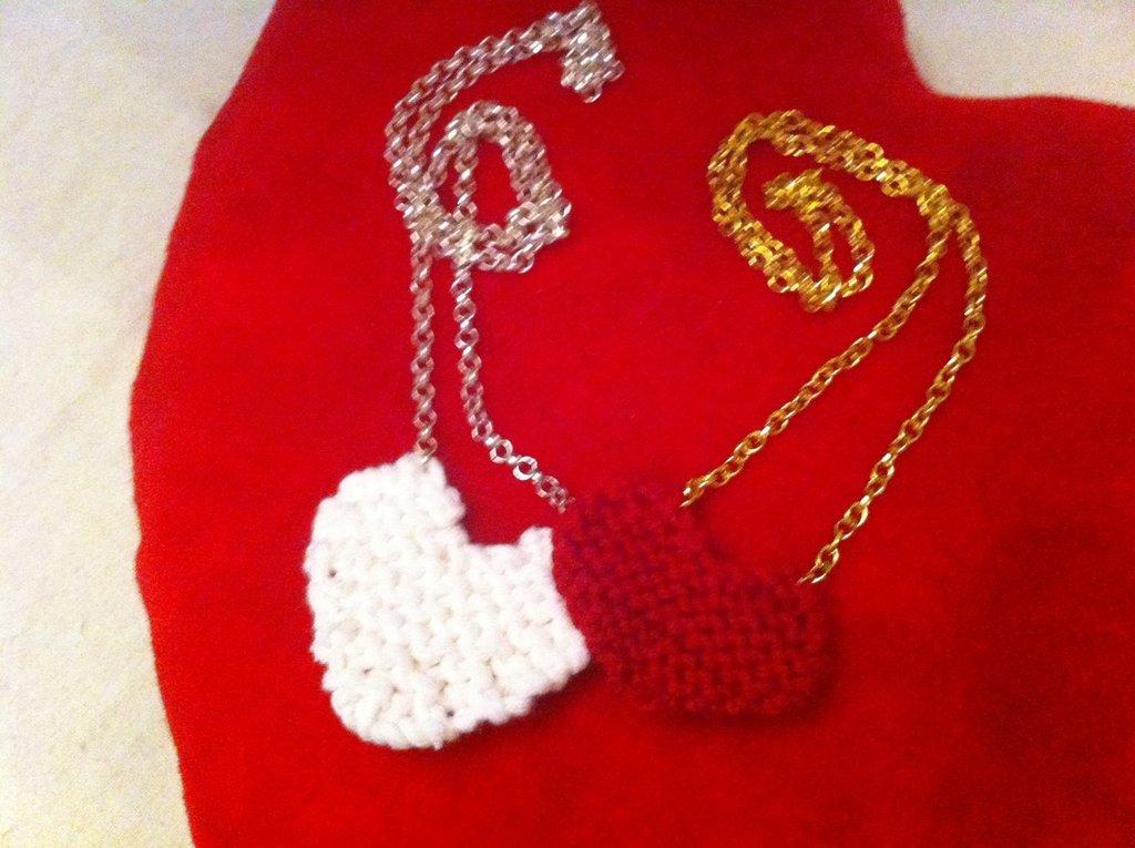 My Valentine-Collana con cuore ai ferri