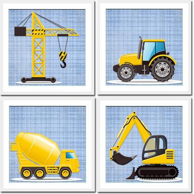 4 grafiche per quadretti- COSTRUZIONE