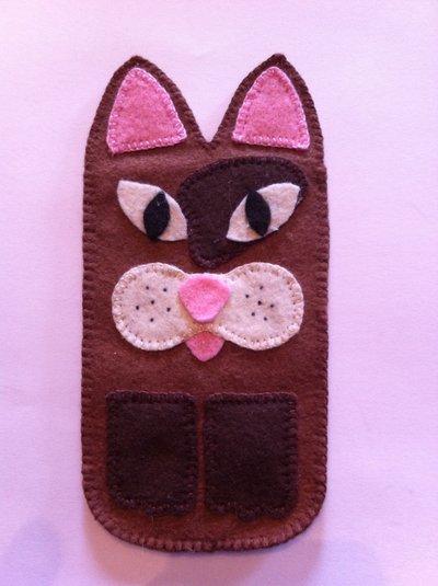 Porta cellulare gatto 2