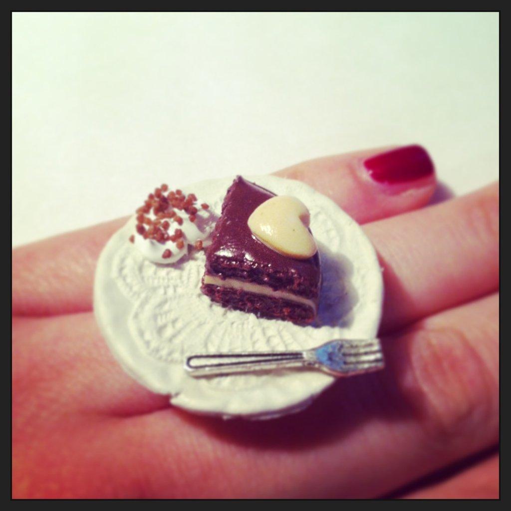 anello torta di san valentino