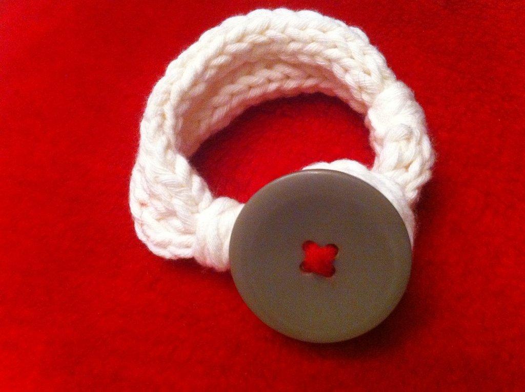 My Valentine- Bracciale in lana