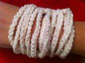 My Valentine-Bracciale in lana